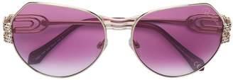 Roberto Cavalli oversized frame sunglasses