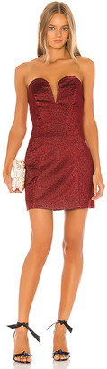 Michael Lo Sordo Jessica Mini Bustier Dress