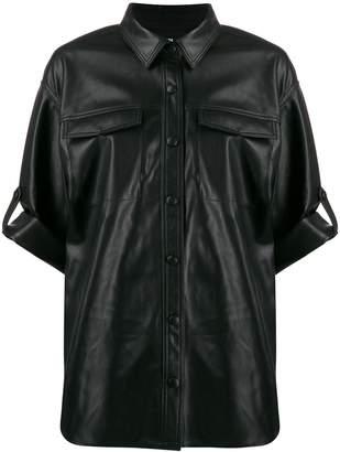 Karl Lagerfeld Paris textured shirt