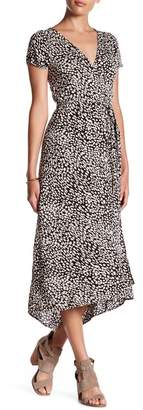 Billabong Wrap Me Up Print Midi Dress