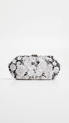 Santi Floral Beaded Clutch