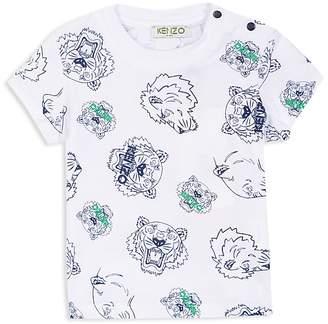 Kenzo Boys' Tiger & Lion Print Tee - Baby