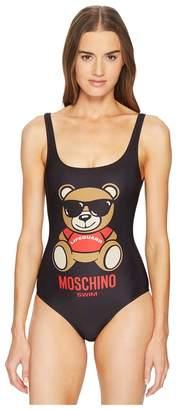 Moschino Lifeguard Teddy Bear on Swimsuit