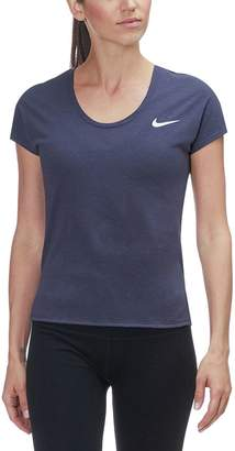 Nike Miler Short-Sleeve Standard-Fit LX Top - Women's