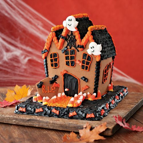 No-Bake Halloween Haunted House Kit