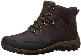 Rockport Men's Cold Springs Plus Mudguard Boot Mid Brown Leather 8.5 M (D)-