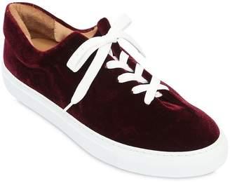 Herve En Ville Velvet Sneakers