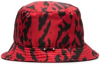 Neil Barrett animal print bucket hat