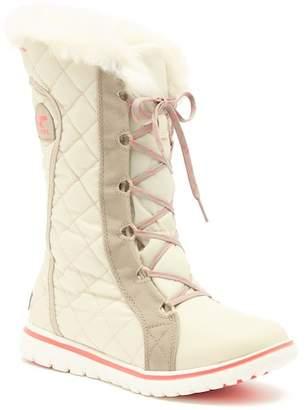 Sorel Cozy Cate Waterproof Fleece Organza Boot