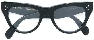 Celine cat eye frame glasses