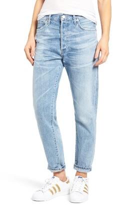 Women's Citizens Of Humanity Liya High Waist Boyfriend Jeans $228 thestylecure.com