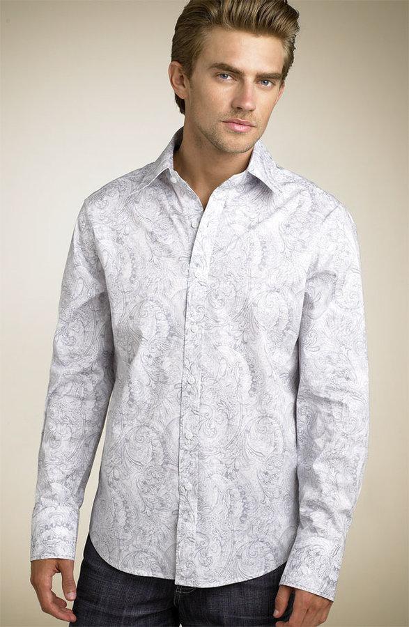 7 Diamonds 'Bohemian' Paisley Print Shirt