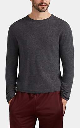 Barneys New York Men's Active Cashmere® Crewneck Sweater - Gray