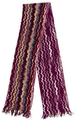 Missoni Wool Knit Scarf