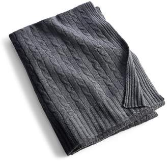 HomeRalph Lauren Cable Cashmere Throw Blanket