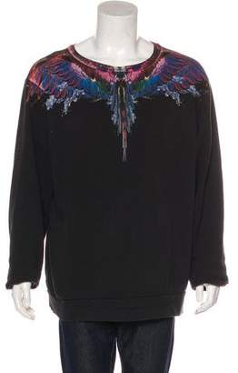 Marcelo Burlon County of Milan Graphic Sweatshirt