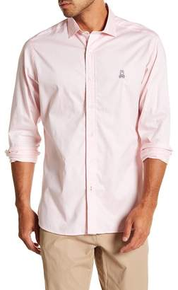 Psycho Bunny Solid Classic Fit Sport Shirt