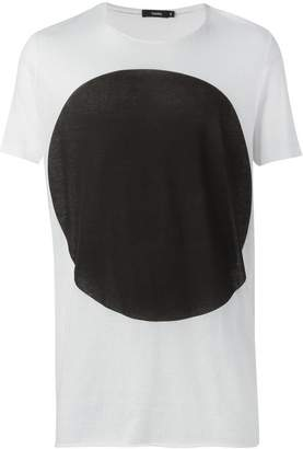 Bassike oversized dot T-shirt