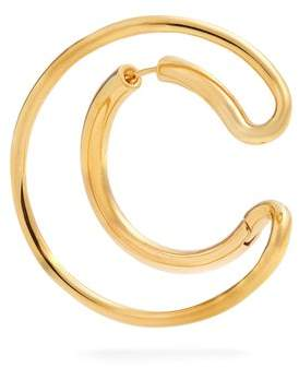 Charlotte Chesnais Ego Vermeil Single Earring - Womens - Gold