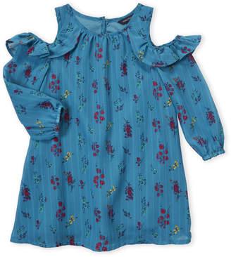 Nautica Toddler Girls) Floral Cold Shoulder Blouse
