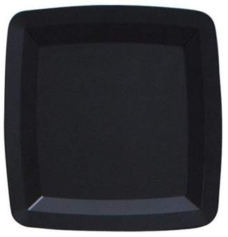 Creative Converting Black Square Serving Tray, Each