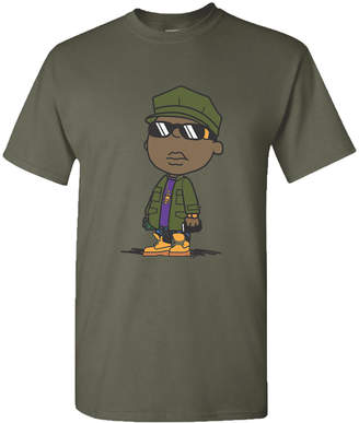 Biggie Smalls Cartoon Men's Graphic T-Shirt
