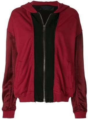 Haider Ackermann oversized zip front hoodie