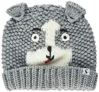 Joules Baby Boys' Chummy Hat, Grey Dog, (Size:1-2)