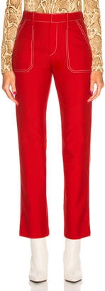 Chloé Contrast Stitching Trousers