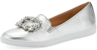 Sesto Meucci Frieda Ornamented Metallic Sneakers