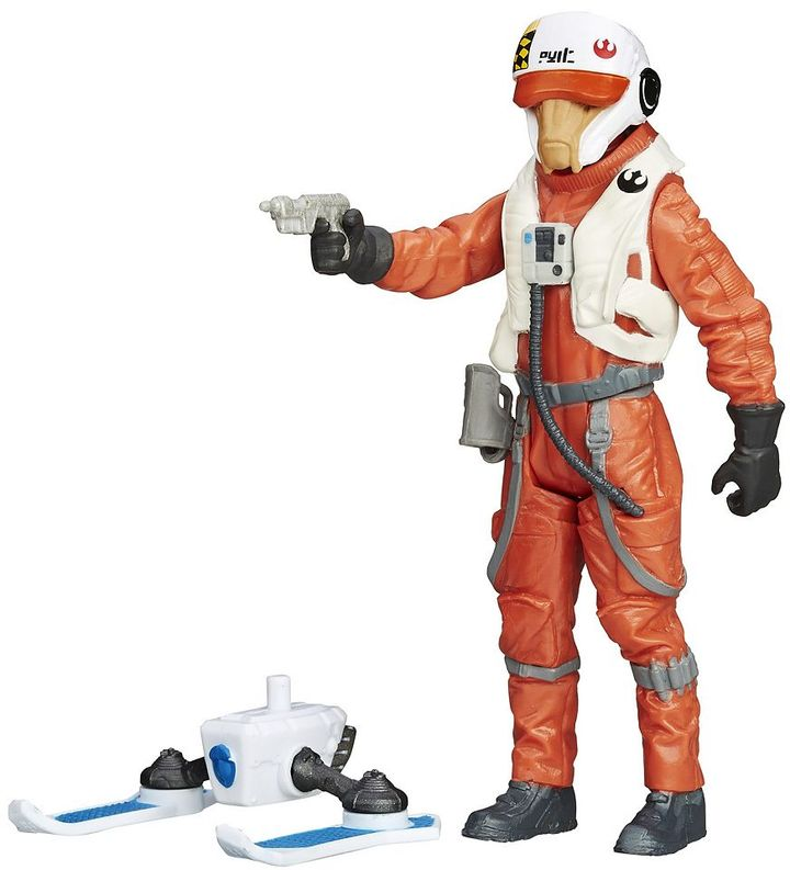 Hasbro Star Wars: Episode VII The Force Awakens 3.75-in. Snow Mission X-Wing Pilot Ello Asty Figure by Hasbro