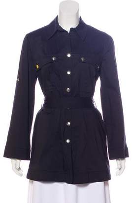Armani Collezioni Lightweight Belted-Accented Coat