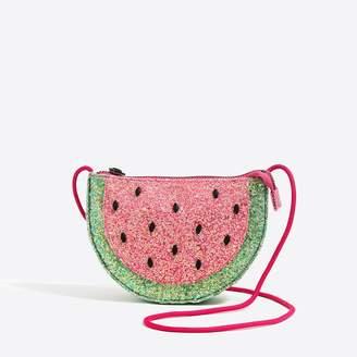 J.Crew Factory Girls' glitter watermelon bag