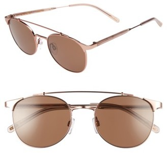 Women's Raen Raleigh 51Mm Sunglasses - Rose Gold/ Flesh $185 thestylecure.com