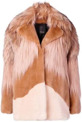 Pinko panelled coat