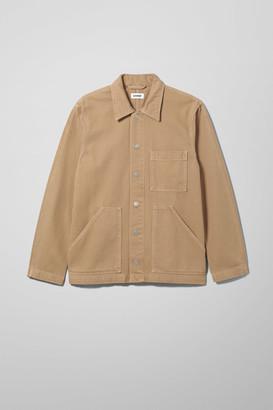 Weekday Jess Desert Denim Jacket - Beige