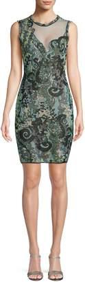 M Missoni Paisley Sheath Dress