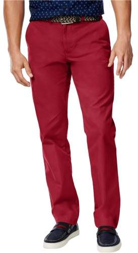 Tommy Hilfiger Mens Custom Fit Casual Chino Pants
