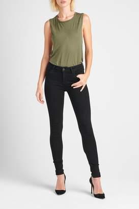 Hudson Jeans Nico Skinny Enhanced-Black