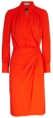 Altuzarra Kat Orange Shirt Dress