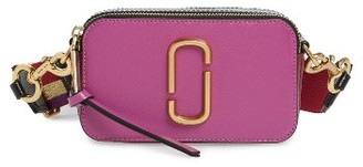 Marc Jacobs Snapshot Crossbody Bag - Purple $295 thestylecure.com