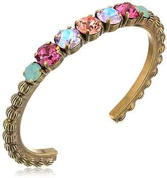 Sorrelli Womens Radiant Sunrise Mimosa Cuff Bracelet
