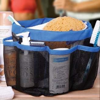 DZT1968 Mesh Shower Tote Wash Bag Bathroom Caddy With 8 Basket Pocket Storage Package