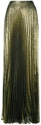 Saint Laurent long pleated skirt