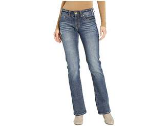 Rock and Roll Cowgirl Mid-Rise Bootcut Jeans in Dark Vintage W1-8714