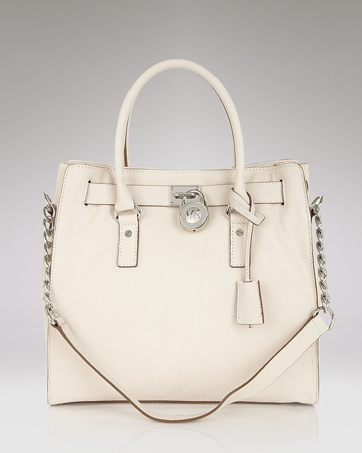 MICHAEL Michael Kors Hamilton Chain Leather Tote