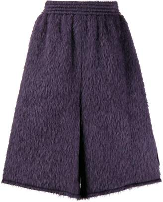 MM6 MAISON MARGIELA oversized fluffy shorts