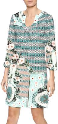 Aryeh Sage Shift Dress