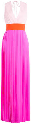 Emilio Pucci Silk Georgette Floor Length Gown