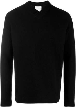 Stephan Schneider v neck knit sweater